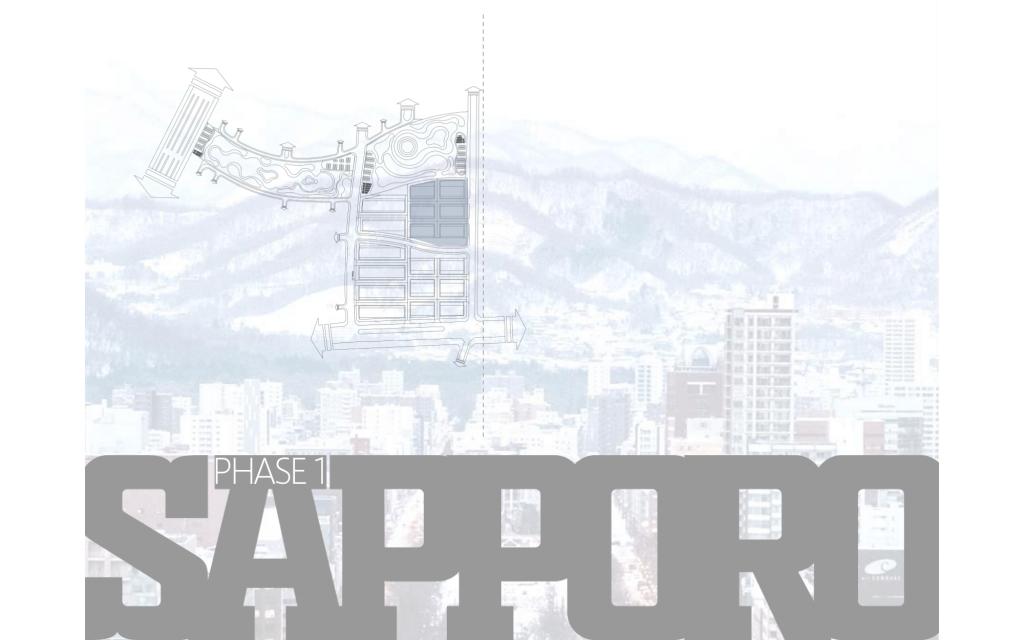 Triển khai giai đoạn 1: Phân khu Sapporo - Takashi Ocean Suite